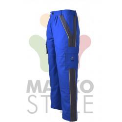 Pracovní kalhoty do pasu, modré