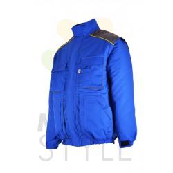 Pracovní bunda zimní, modrá