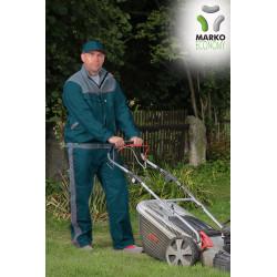 Pracovní bunda, zelená petrolej + světle šedá, řada ECONOMY