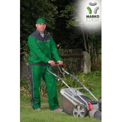 Pracovní bunda, světle zelená + tmavě šedá, řada ECONOMY