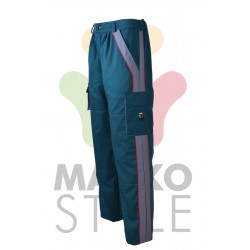 Pracovní kalhoty do pasu, zelené