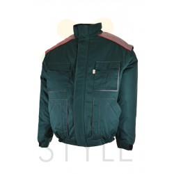 Pracovní bunda zimní, zelená