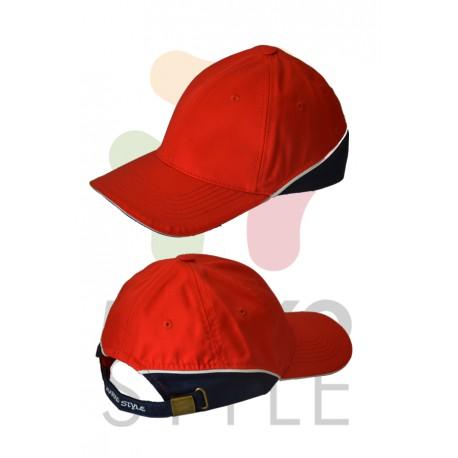 Kšiltovka, červená