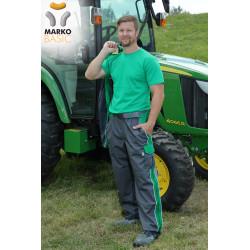 Kalhoty do pásku, světle zelené, řada BASIC