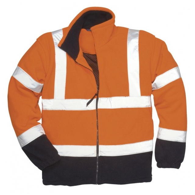 Hi-Vis fleece bunda, F301